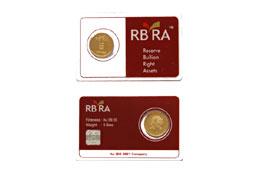 RBRA Gold Coin 5 gm